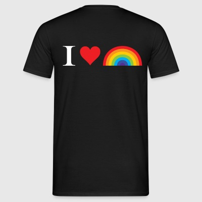 I Love Lgbt T-Shirts - Men's T-Shirt