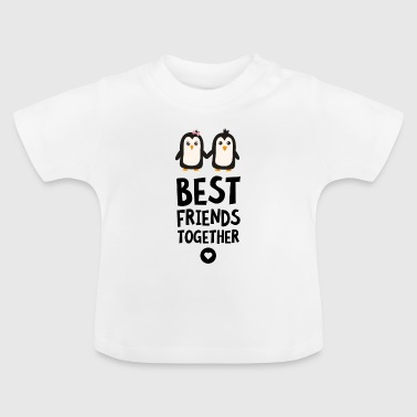 Pinguin Best Friends Herz Sfuls T-Shirts - Baby T-Shirt