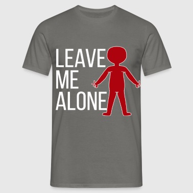 Introvert - Leave me alone - Men's T-Shirt