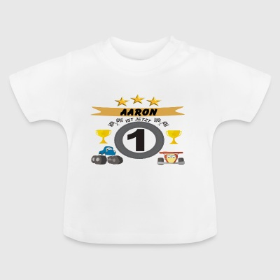 Aaron ist jetzt 1 T-Shirts - Baby T-Shirt