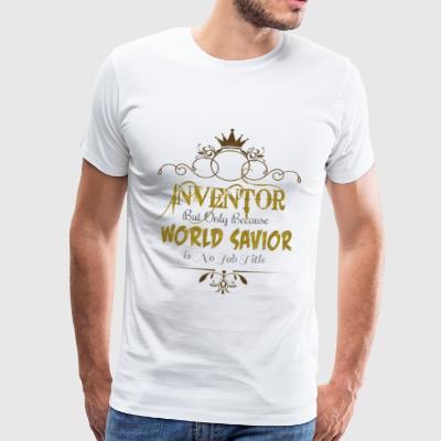 Inventor World Savior T-Shirts - Men's Premium T-Shirt