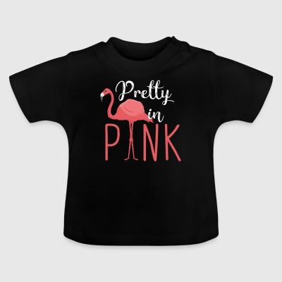 Flamingo - Pretty in Pink T-shirts - Baby-T-shirt