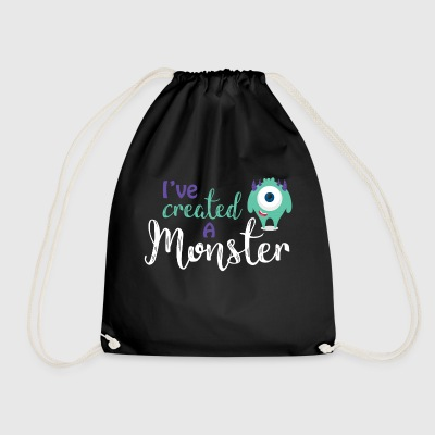 Parents - child - Partnerlook - Monster parents Bags & Backpacks - Drawstring Bag