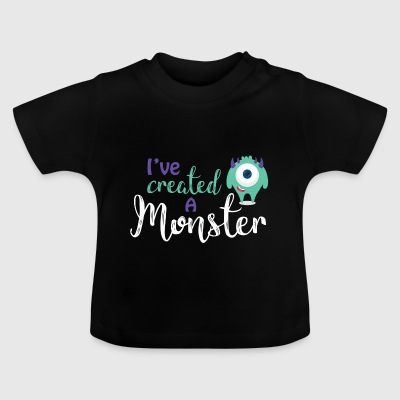 Ouders - kind - Partnerlook - Monster ouders Shirts - Baby T-shirt
