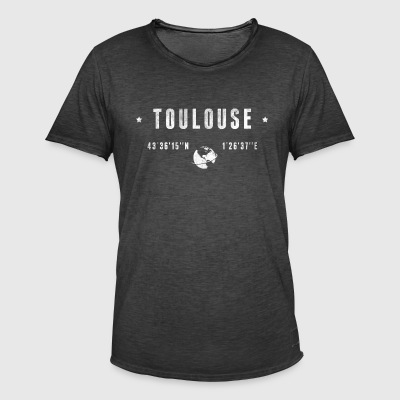 Toulouse  Tee shirts - T-shirt vintage Homme