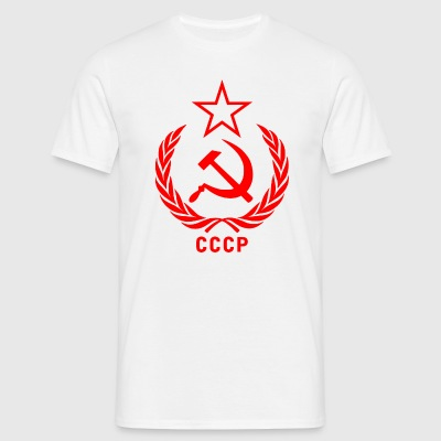 Soviet  Hammer and sickle  - Men's T-Shirt