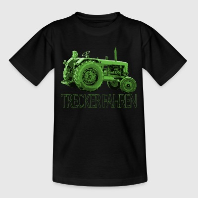 Trecker fahren T-Shirts - Teenager T-Shirt