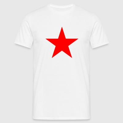 Communist Star red - Men's T-Shirt