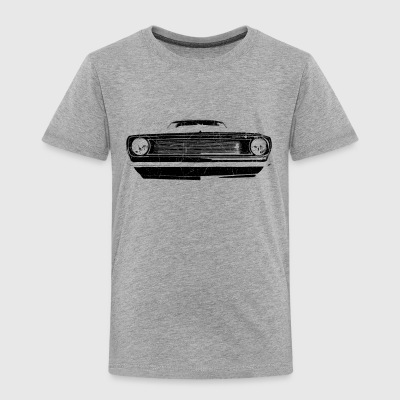 1966 muscle car -  black - Kids' Premium T-Shirt