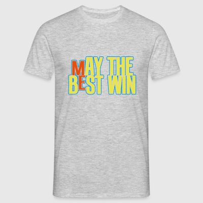 may the best win : ME T-shirts - Mannen T-shirt