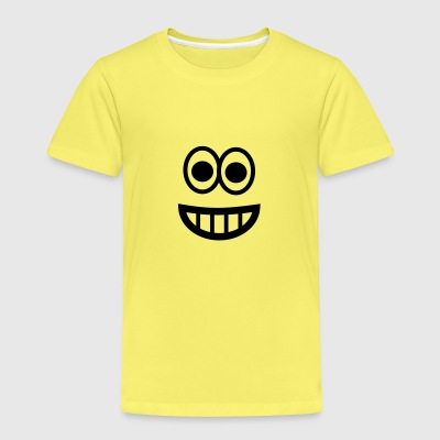 Very happy Emoji T-Shirts - Kinder Premium T-Shirt
