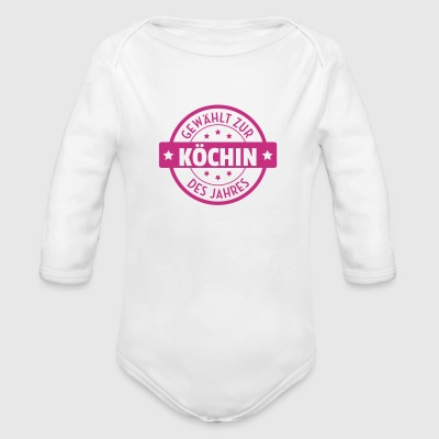 Koch / Kochen / Cooking / Chef Baby Bodys - Baby Bio-Langarm-Body