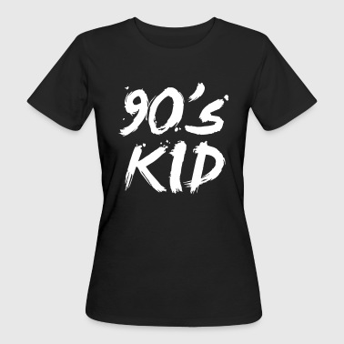 90s kid T-Shirts - Frauen Bio-T-Shirt