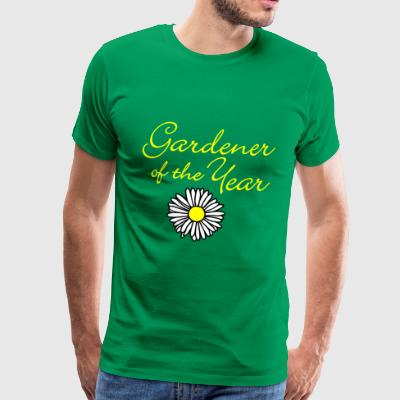 Gardener of the Year (Gelb) T-Shirts - Männer Premium T-Shirt
