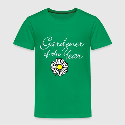 Gardener of the Year (Weiß) T-Shirts - Kinder Premium T-Shirt