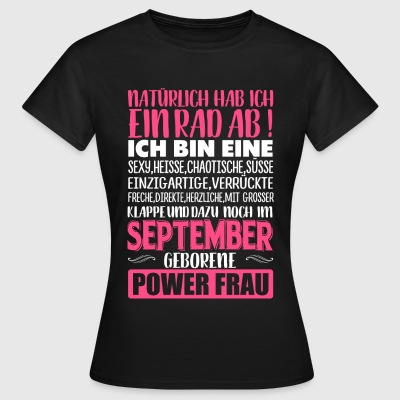 SEPTEMBER - Rad ab - Frauen T-Shirt