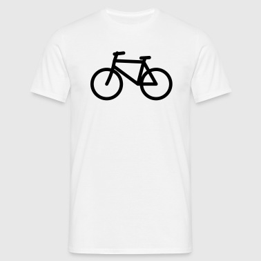 Bicycle Icon T-Shirts - Men's T-Shirt