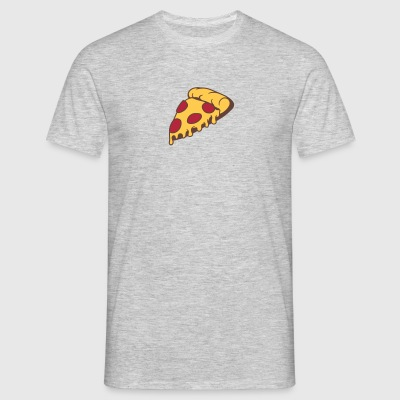 ost dripping salami pizza lækker mad sult tegneser T-shirts - Herre-T-shirt