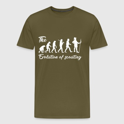 Evolution of Scouting T-Shirts - Men's Premium T-Shirt