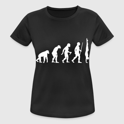 Evolution Handstand - Great Gift Design Idea T-Shirts - Frauen T-Shirt atmungsaktiv