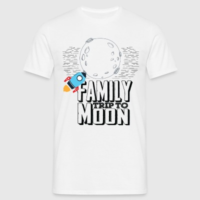 Family Trip To Moon T-Shirts - Men's T-Shirt