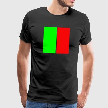 You and me (red and green) - Männer Premium T-Shirt