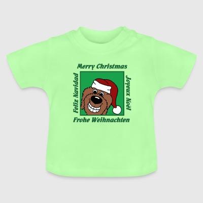 Doodle Weihnacht - Baby T-Shirt