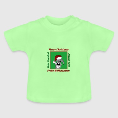 Irish Wolf Weihnacht - Baby T-Shirt