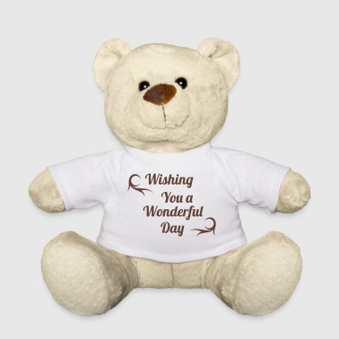 wonderful day Knuffeldieren - Teddy