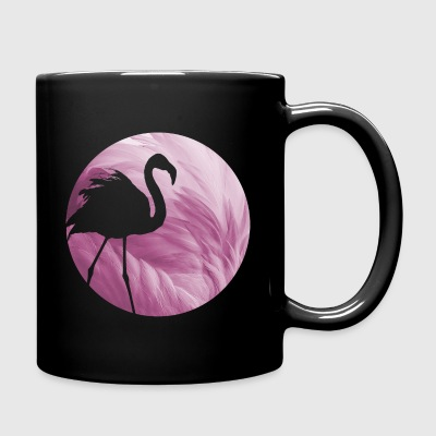 Animal Planet Flamingo Feathers Silhouette - Ensfarget kopp