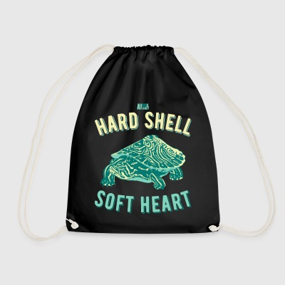 Animal Planet Hard Shell Soft Heart Turtle - Drawstring Bag