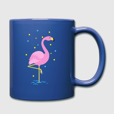 Animal Planet Cute Flamingo Illustration - Full Colour Mug