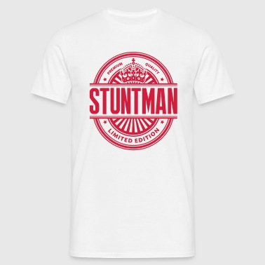 Limited edition stuntman premium quality - Men's T-Shirt