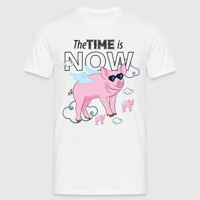 The Time Is Now T-Shirts - Men's T-Shirt