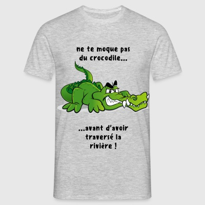 croco-deal - T-shirt Homme