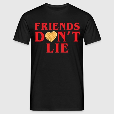 Friends Dont Lie T-Shirts - Men's T-Shirt