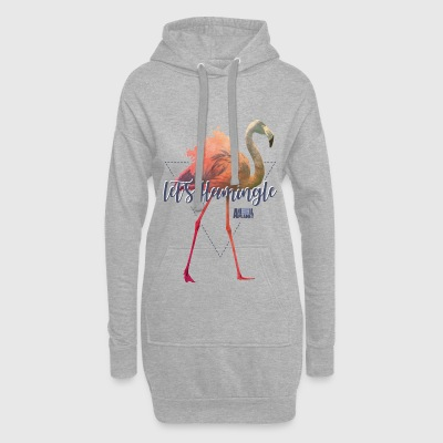 Animal Planet Let's Flamingle Flamingo Quote - Hoodie Dress