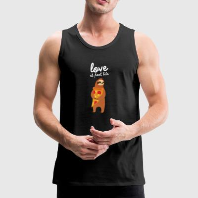 Love At First Bite Sportsklær - Premium singlet for menn