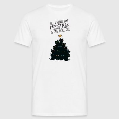 All I Want For Christmas Is One More Cat T-Shirts - Männer T-Shirt