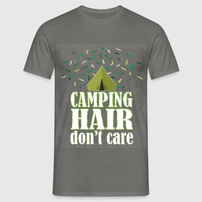 Camping - Camping hair don't care - Men's T-Shirt