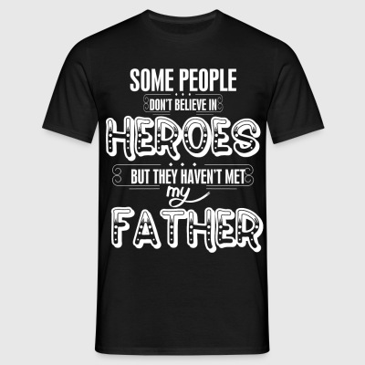 Superhero Father T-Shirts - Men's T-Shirt