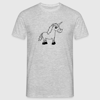 unicorn wish rainbow magical horse pony riding fas T-Shirts - Men's T-Shirt