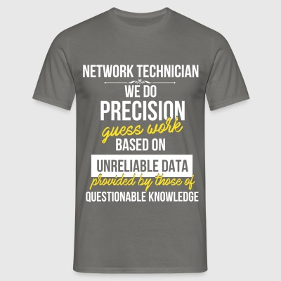 Network technician - Network technician - Men's T-Shirt