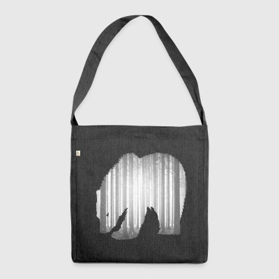 Fading Forest Schultertasche - Schultertasche aus Recycling-Material