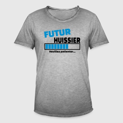 futur huissier Tee shirts - T-shirt vintage Homme