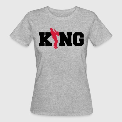 Jazz King - Saxophone - Saxofon - Musik - Band T-shirts - Organic damer