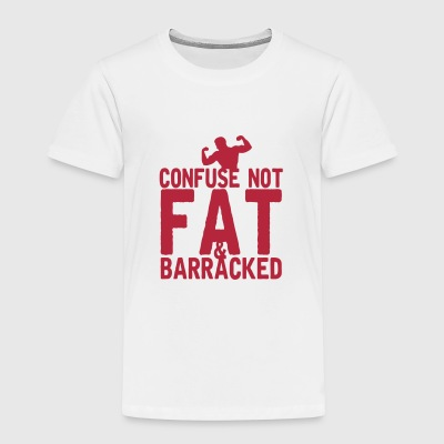 citation confuse not fat barracked messa Tee shirts - T-shirt Premium Enfant