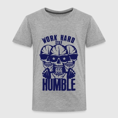 citation work hard stay humble musculati Tee shirts - T-shirt Premium Enfant