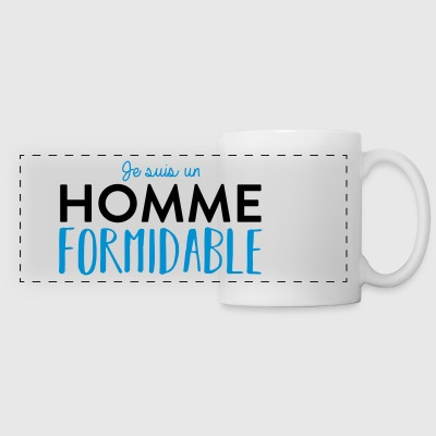 Homme formidable Bouteilles et Tasses - Tasse panorama