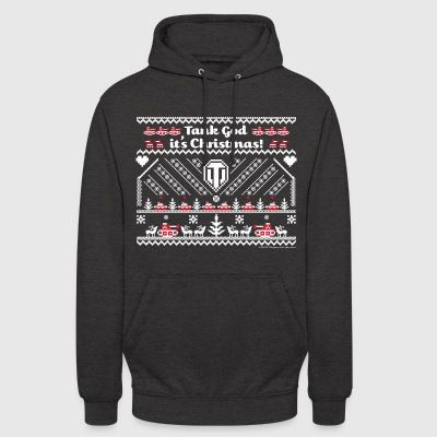 World Of Tanks Tank God It's Christmas - Unisex-hettegenser